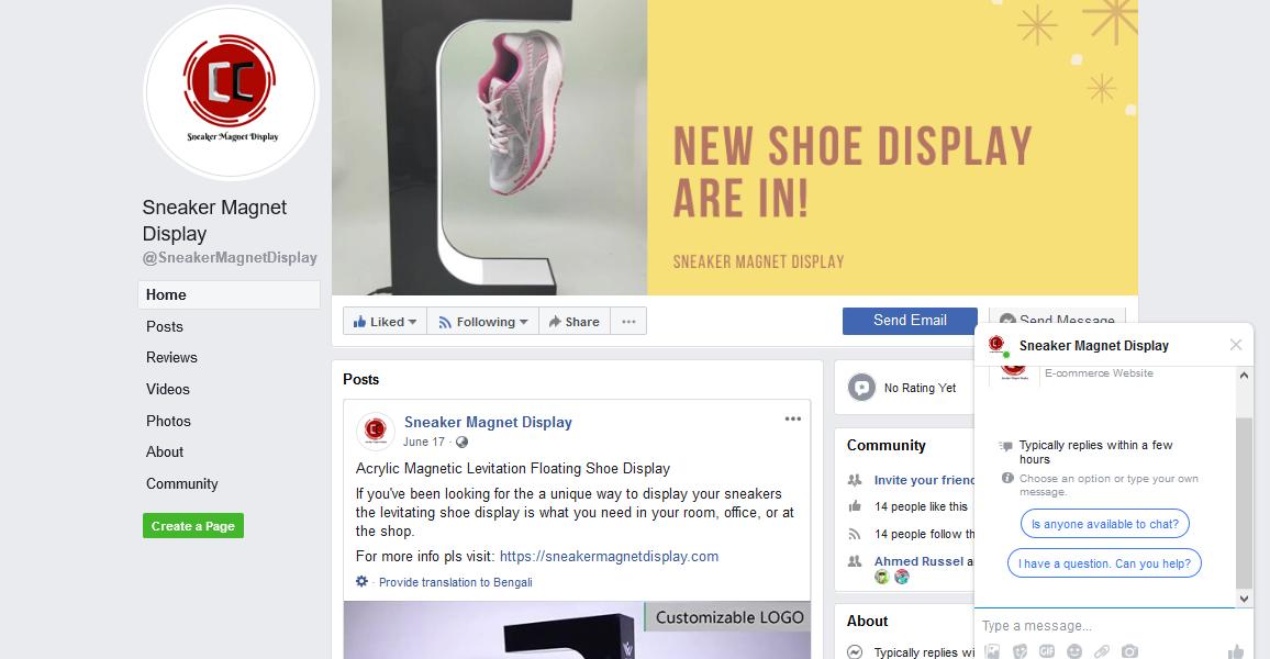 Sneaker Magnet Display